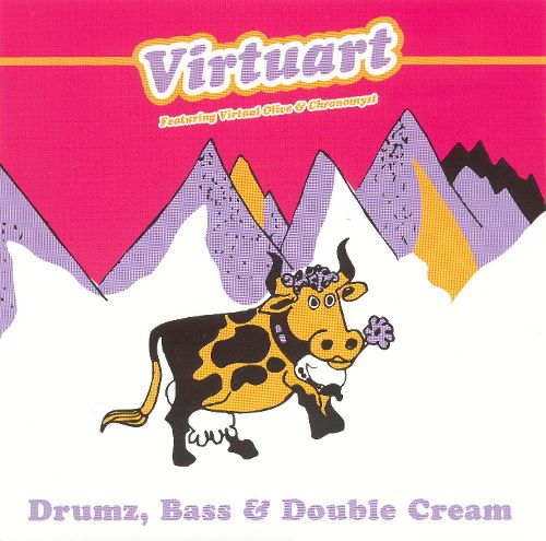 Virtart - Drums, Bass & Double Cream, cover