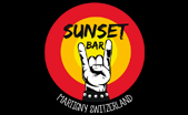 sunset café - logo