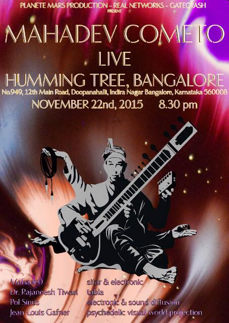 mahadev at the-humming-tree, bangalore nov 22, 2015