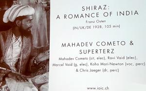 Mahadev Commeto & Superterz - Live Music: SHIRAZ: A Romance of India