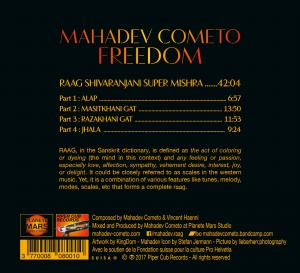 Mahadev Cometo Album Freedom back