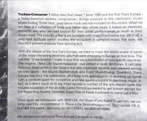 Trans-Europa 2 booklet-intro